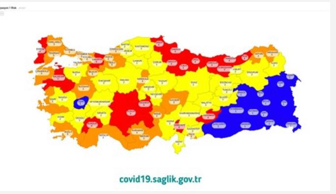 Türkiye'nin Risk Haritası…