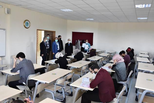 Yabancı Öğrenciler Sınavda