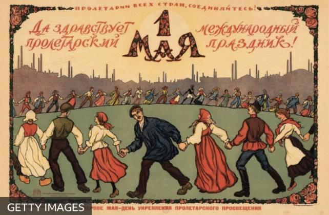 İşçi Bayramı afişleri