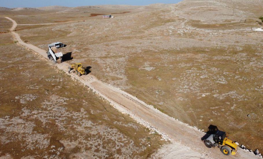 Eyyübiye Kırsalında Yol Yapımı
