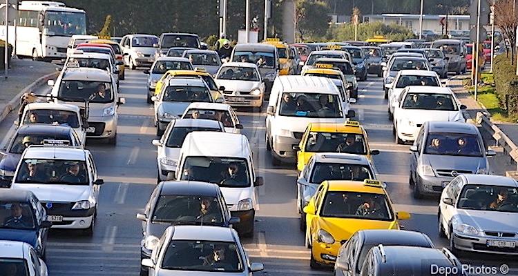 Trafikteki araçlar