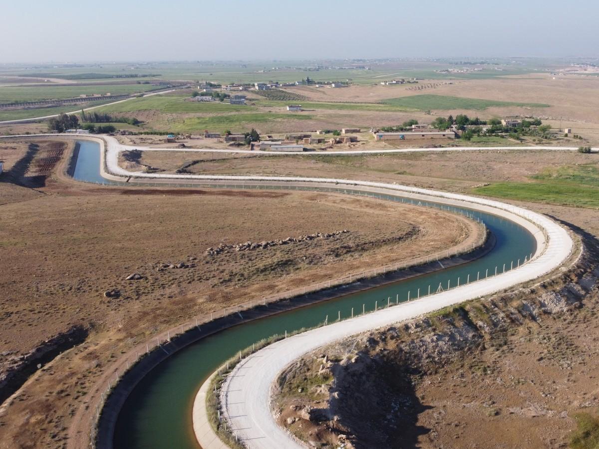 Tarihi Harran'da Yol Yapım Atağı