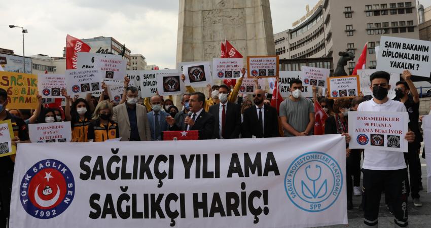 Sağlıkçıların Atama İsyanı !