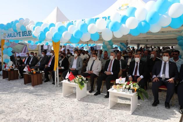 Haliliye Belediyesinden Toplu Açılış