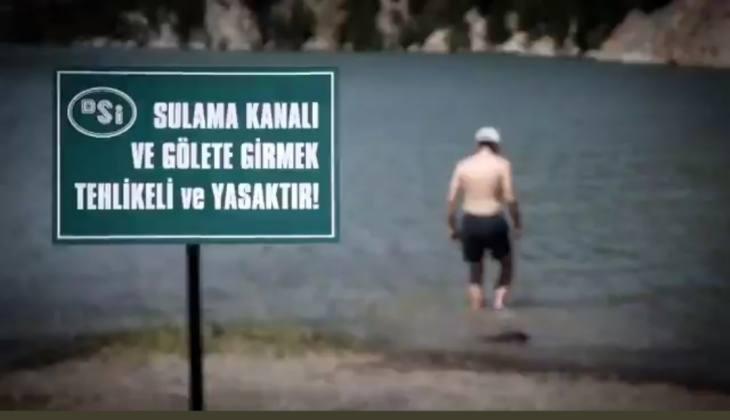 Sulama Kanallarında Yüzmeyin Çağrısı