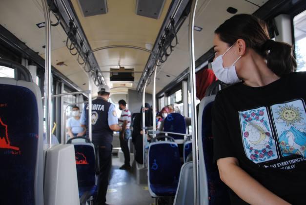 Toplu taşıma araçlarında 'klima' denetimi