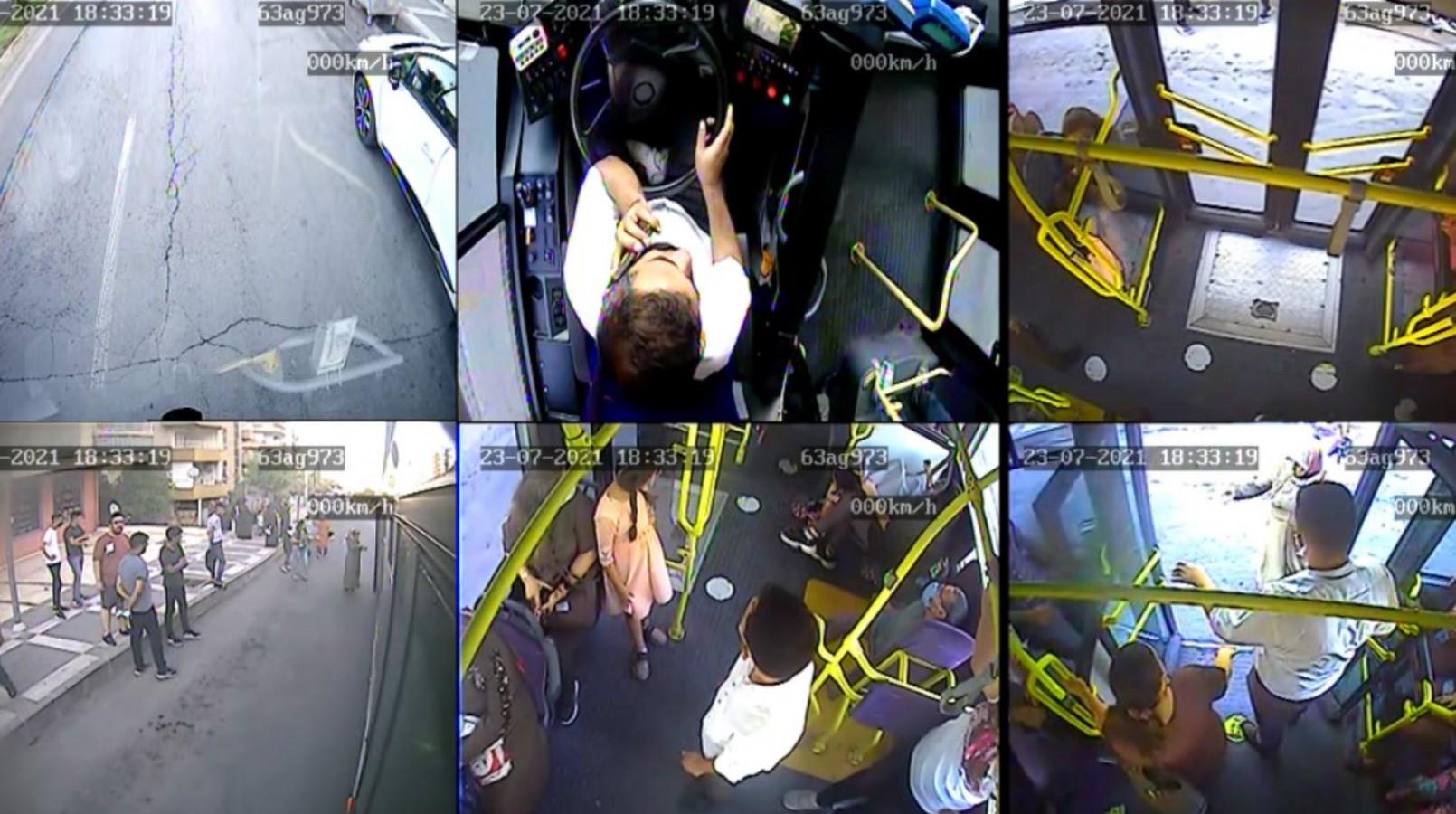 Otobüste Fenalaşan Vatandaş Hastaneye Ulaştırıldı