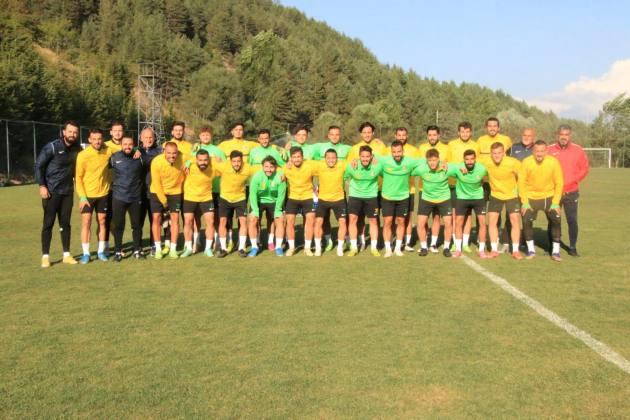 Urfaspor'da Bolu kampı tamamlandı