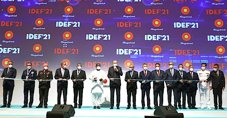 IDEF'21 başladı
