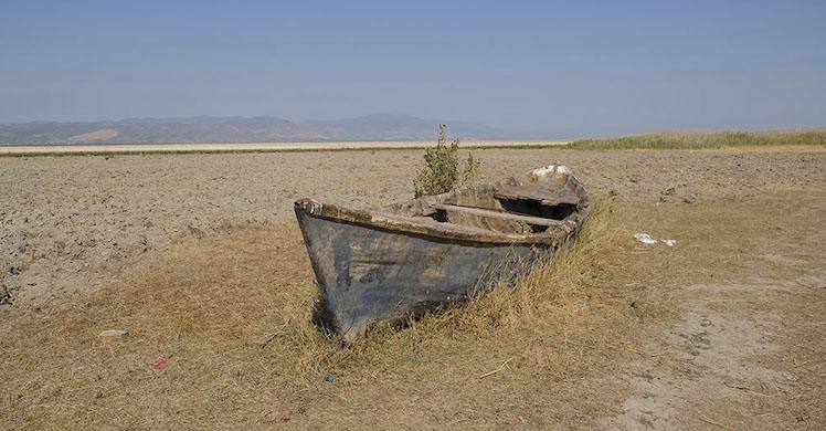 """""""Marmara Gölü kurutuluyor"""""""