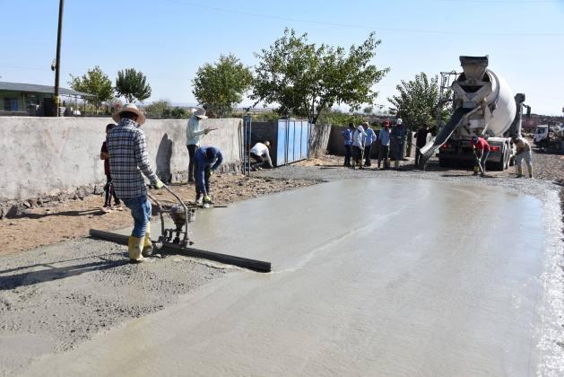 Engelliler İçin Beton Yol