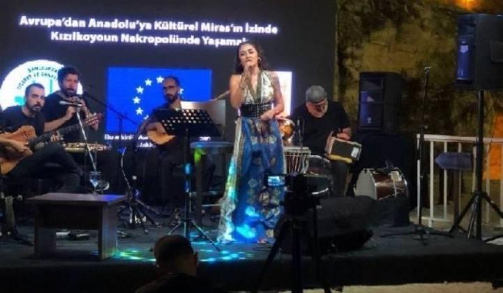 Kızılkoyun Nekropolü'nde Konser