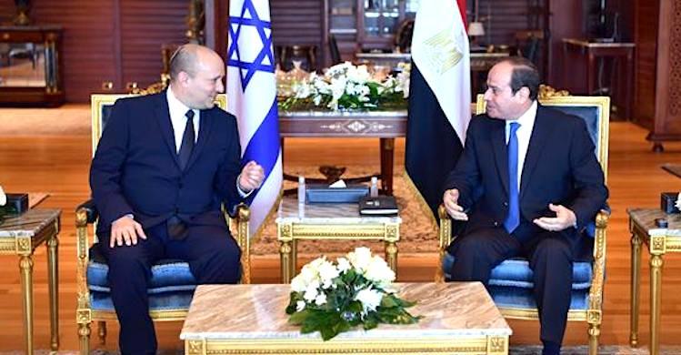 Bennett ve Sisi görüştü