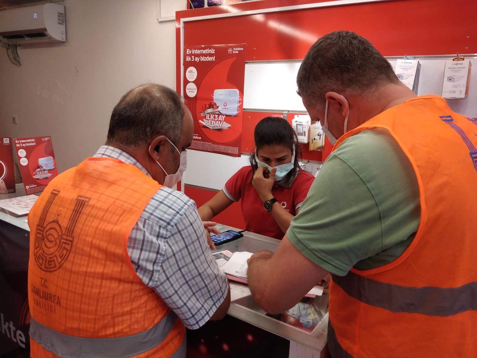Şanlıurfa'da Pandemi Denetimleri Sürdürülüyor
